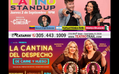 Teatro Trail: se mueve la escena hispana de Miami