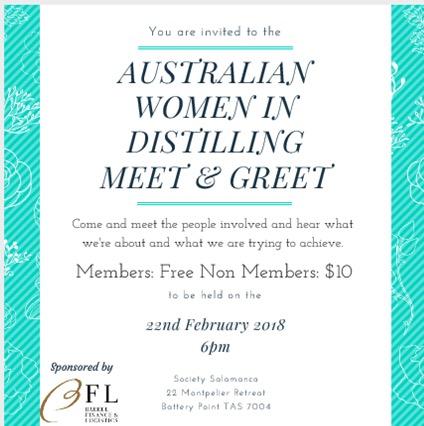 Australian Women In Distilling