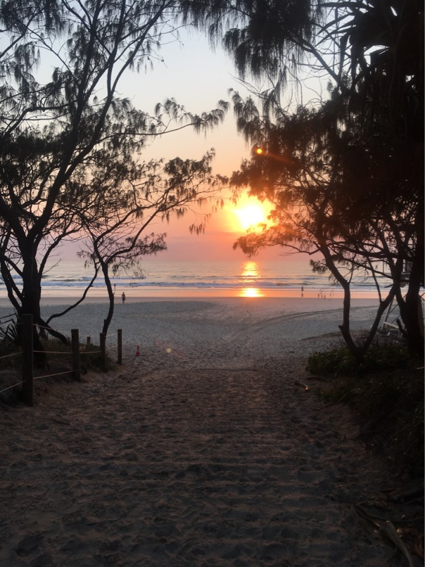 Breathtaking sunrises at the Mantra on Salt Beach.
