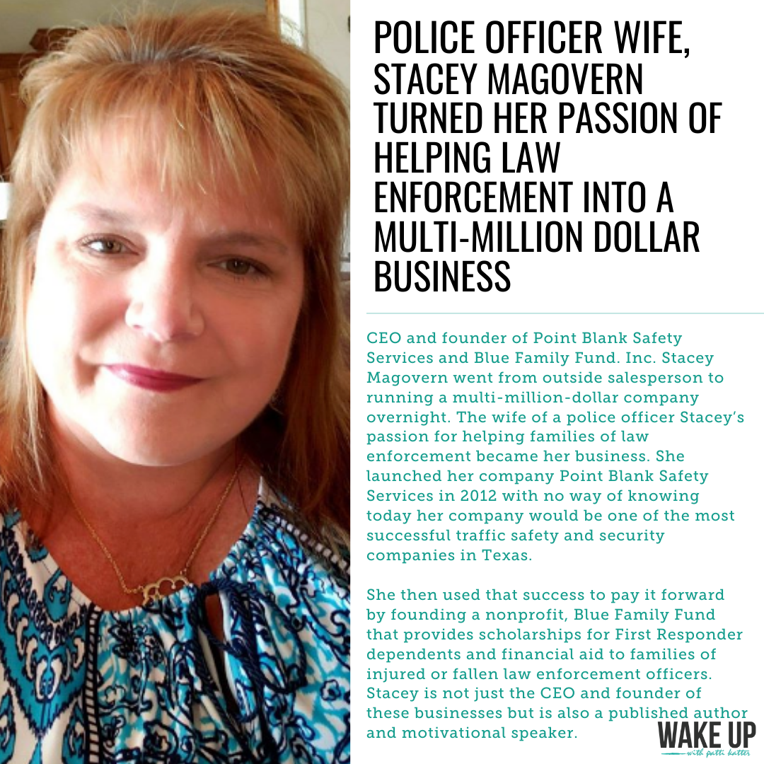 Police Officer Wife Turns Her Passion of Helping Law Enforcement Into A Multi-Million Dollar Business