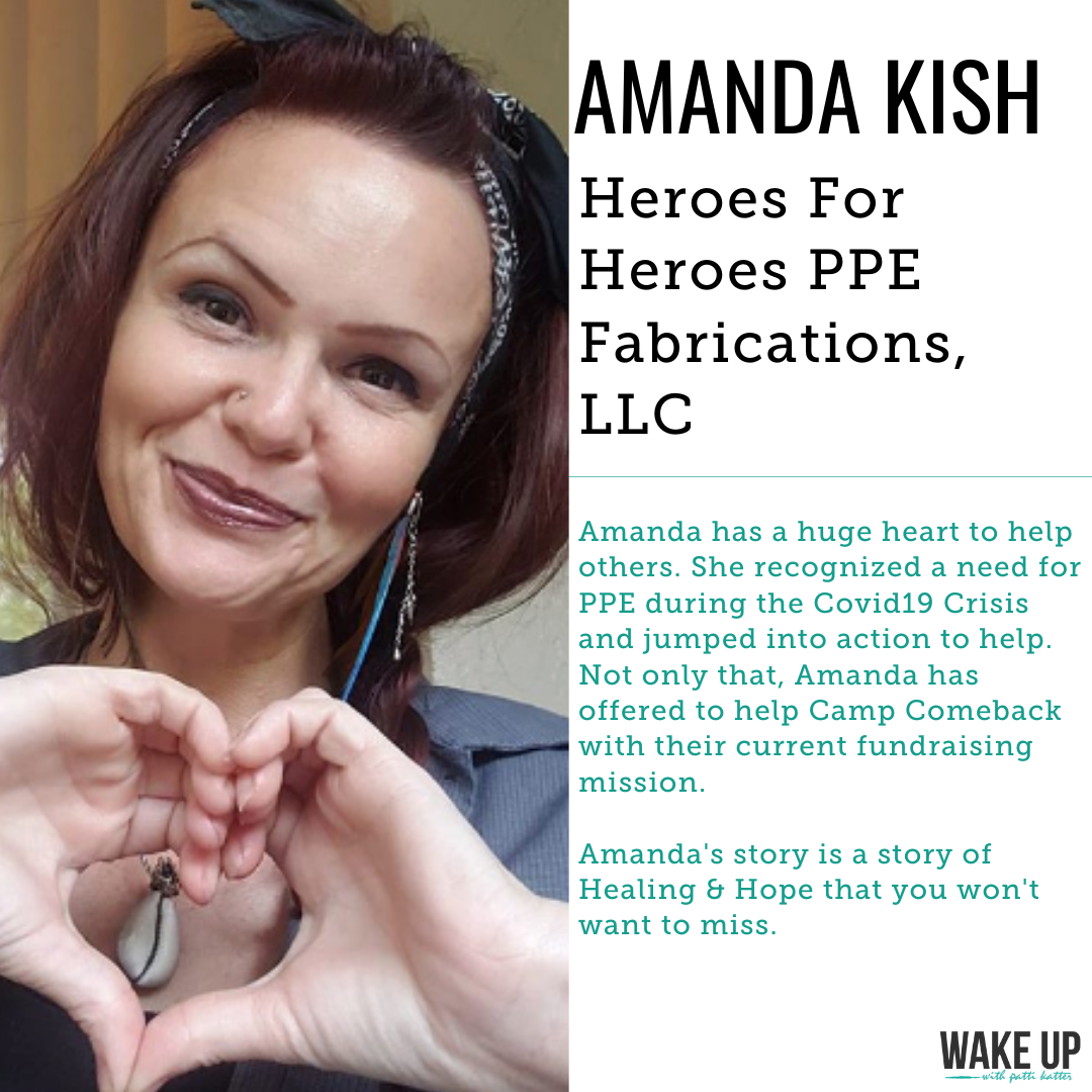 Amanda Kish: CEO of Heroes For Heroes PPE Fabrications, LLC