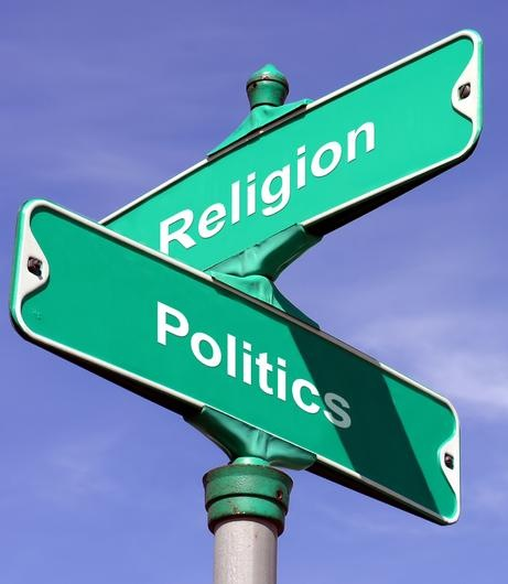 politics and religion signs