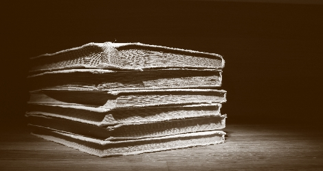 photo of old books