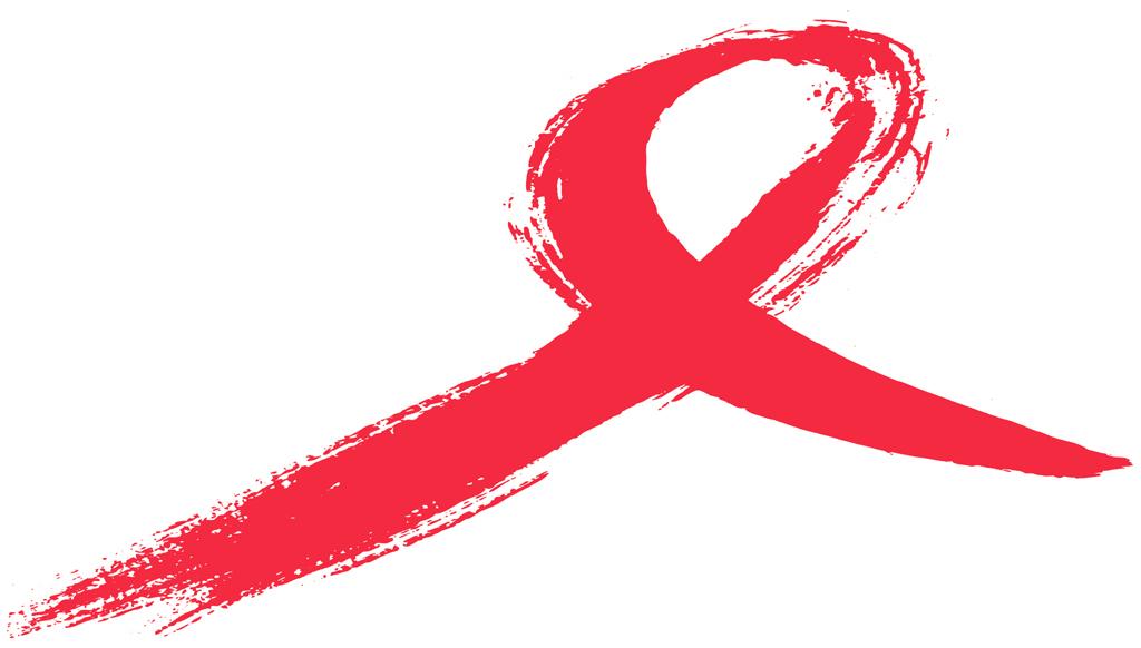 AIDS ribbon graphic