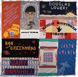 tile of the aids quilt