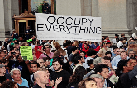 photo of OWS protest