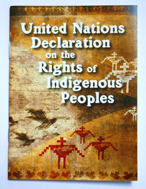 UN-Declaration of Indigenous rights