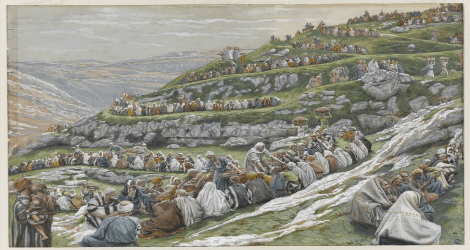 """""""The Miracle of the Loaves and Fishes"""" by James Tissot, Brooklyn Museum"""