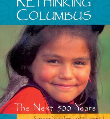 """photo of book """"rethinking columbus"""""""