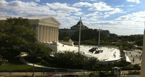 Supreme Court, View from the Office of Public Witness