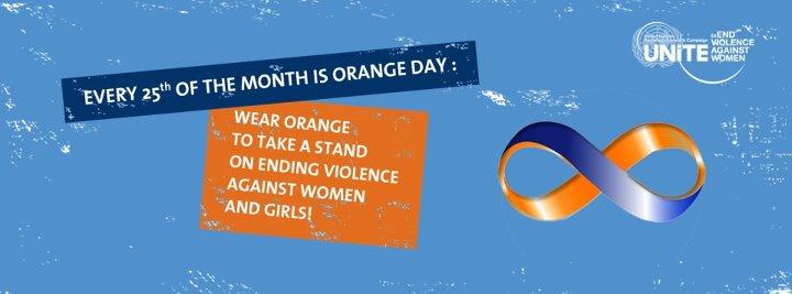 Orange Day Banner