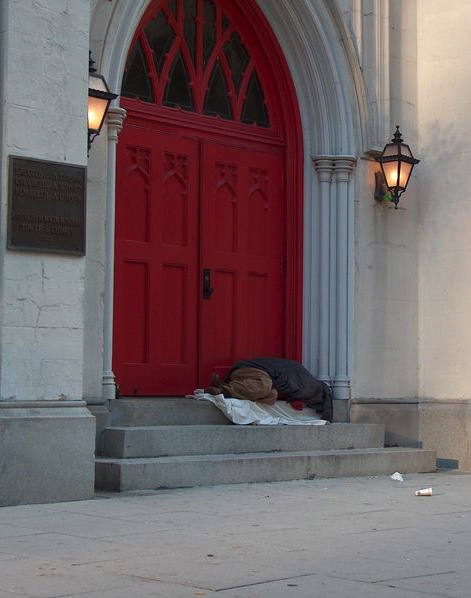 """Church Homeless"" photo by Scott Gawne"