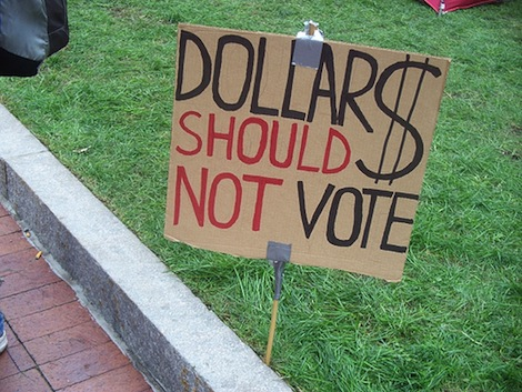 dollars should not vote