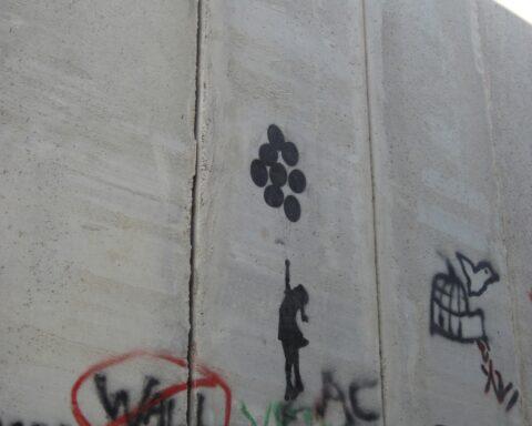 Separation Wall Graffiti, Photo by Madison Munoz