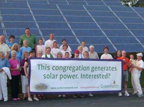 GreenFaith solar energy