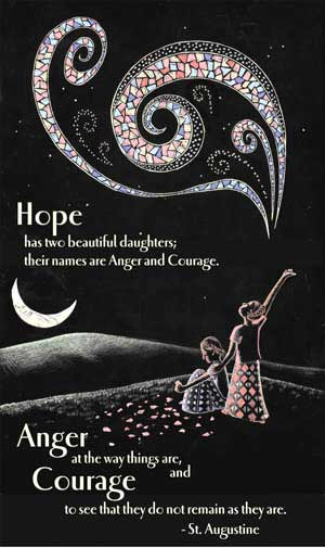 hope has two beautiful daughters