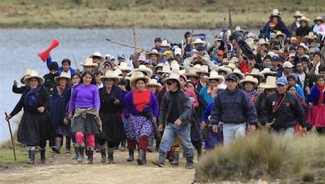 mining protest in peru