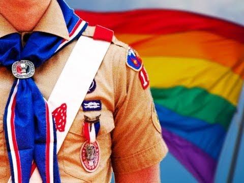 gay pride scout