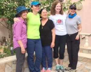 The awesome moms on our trip, in celebration of Mother's Day.