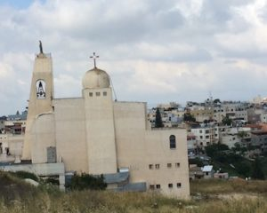 According to our guide, this church is living proof that Aramaic is not a dead language.