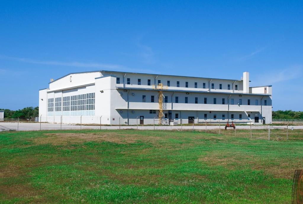 Wernher von Braun's famous Hanger