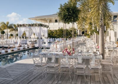 Beach wedding at Mahogany Bay Village, Ambergris Caye_2019020216