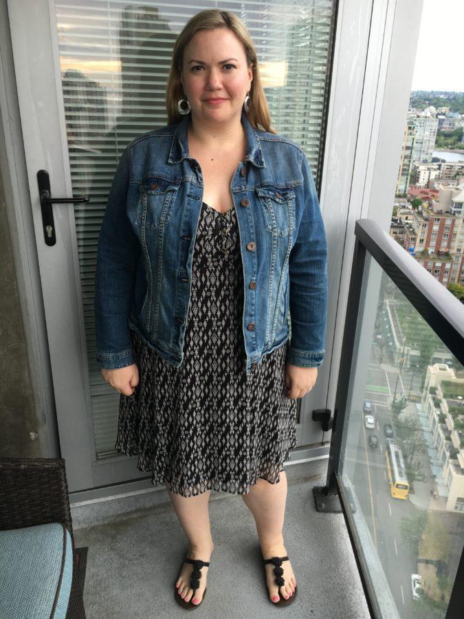 Dress - Addition Elle Jacket - Ricki's Shoes - Payless