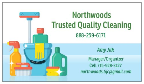 Northwoods Trusted Quality Cleaning