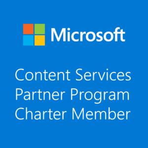 Microsoft Content Serv Charter Member Blue_2000x2000
