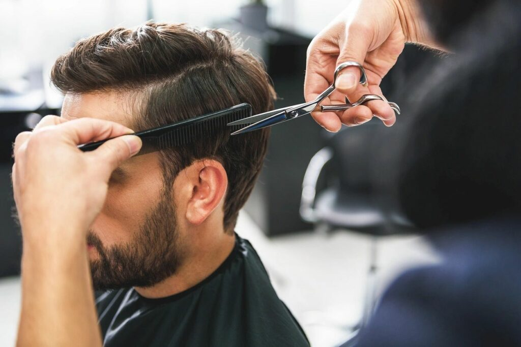 Men's Haircut at Hello Gorgeous Blowouts in Rockwall, TX