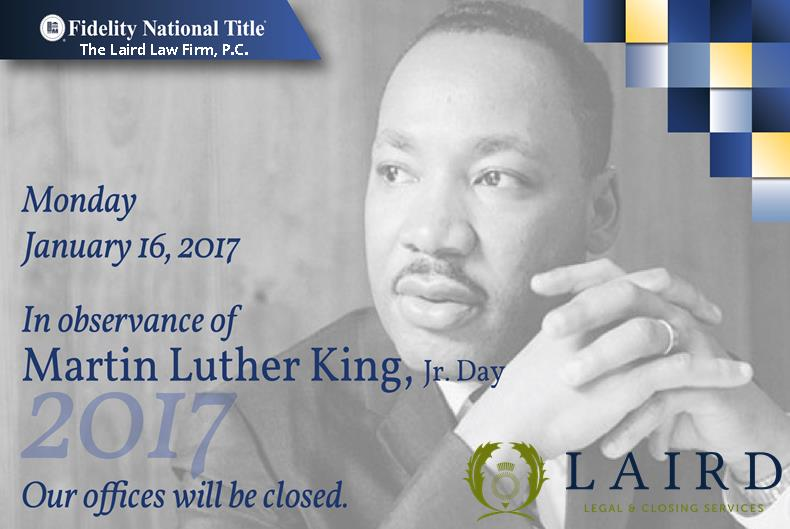 MLK 2017, The Laird Law Firm, Fidelity National Title, 1512 Heights, Houston, TX 77008, Heights, Title company, 77007,77006,77009,77018