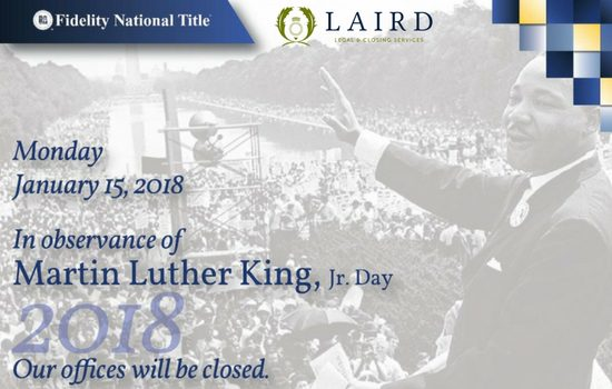 MLK Day 2018, Fidelity National Title, The Laird Law Firm, 1512 Heights Blvd, Houston, TX 77008