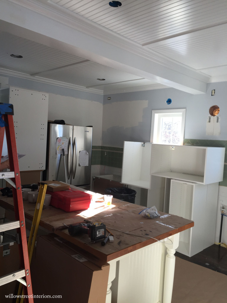 kitchen reno process