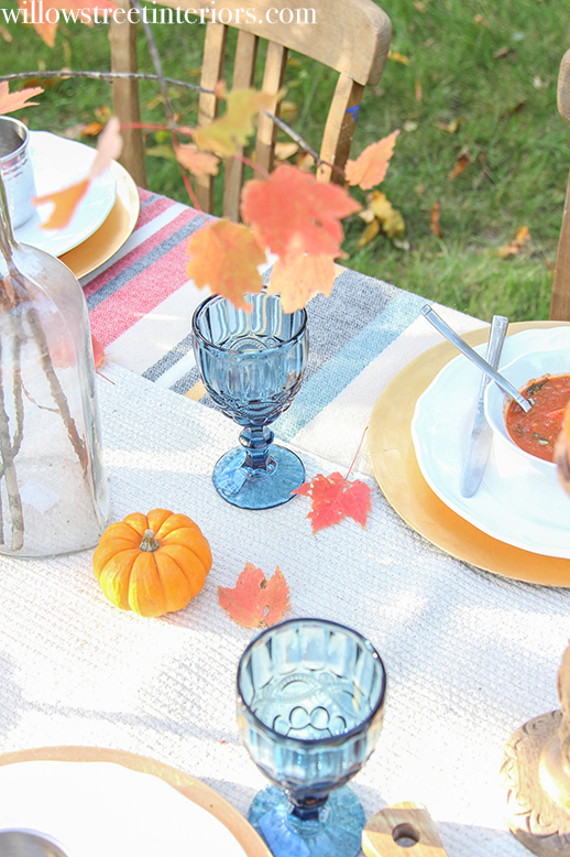 happy fall table