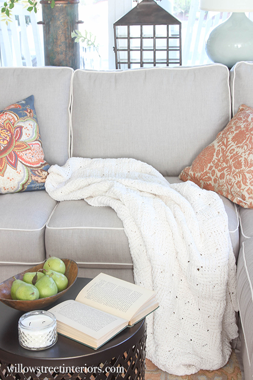 cute coffee table styling