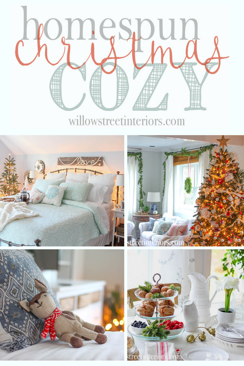 homespun cozy christmas tour
