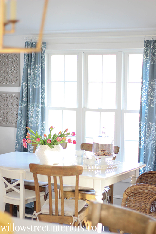 Spring Kitchen Curtains
