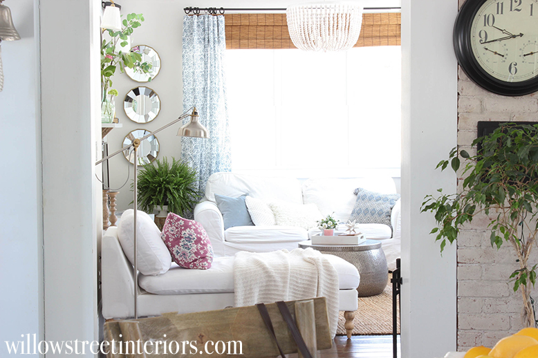 a simple spring home tour