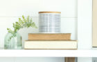 spring mantel decorating idea