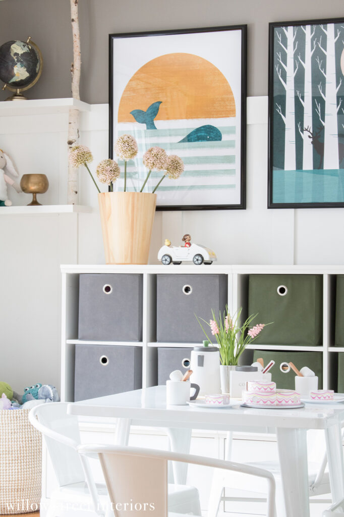 Cute Kids Shared Playroom Reveal