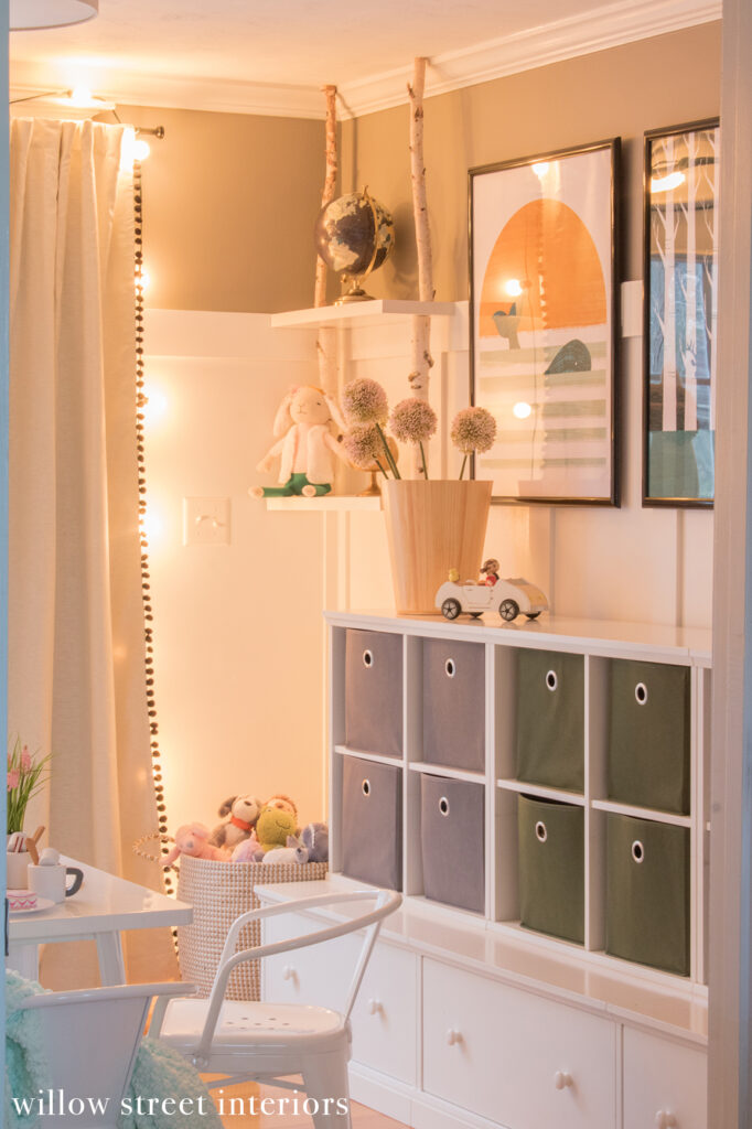 Whimsical Gender Neutral Playroom Reveal