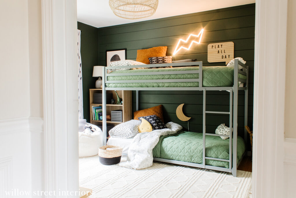 Big Boy Bunk Room Reveal