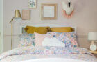 Earthy and Feminine Girl's Room Reveal