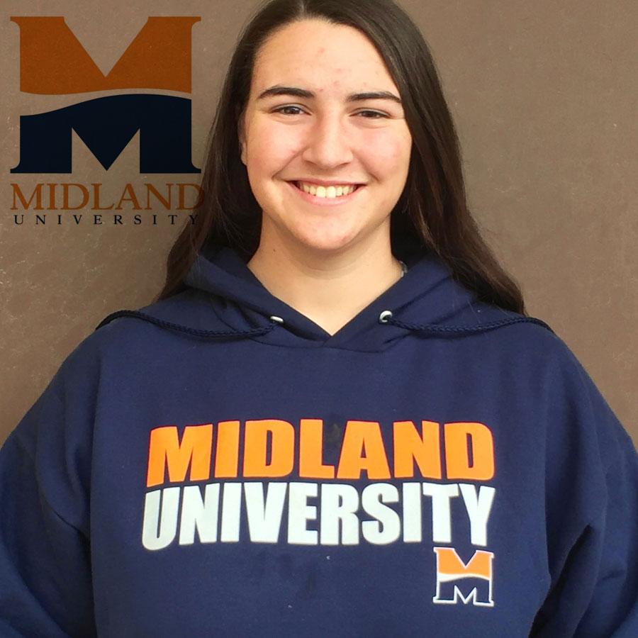Angela Brazil (2016) Commits to Midland University