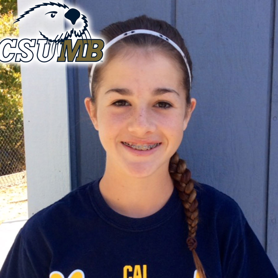 Gabby Forbes (2017) Commits to CSU Monterey Bay