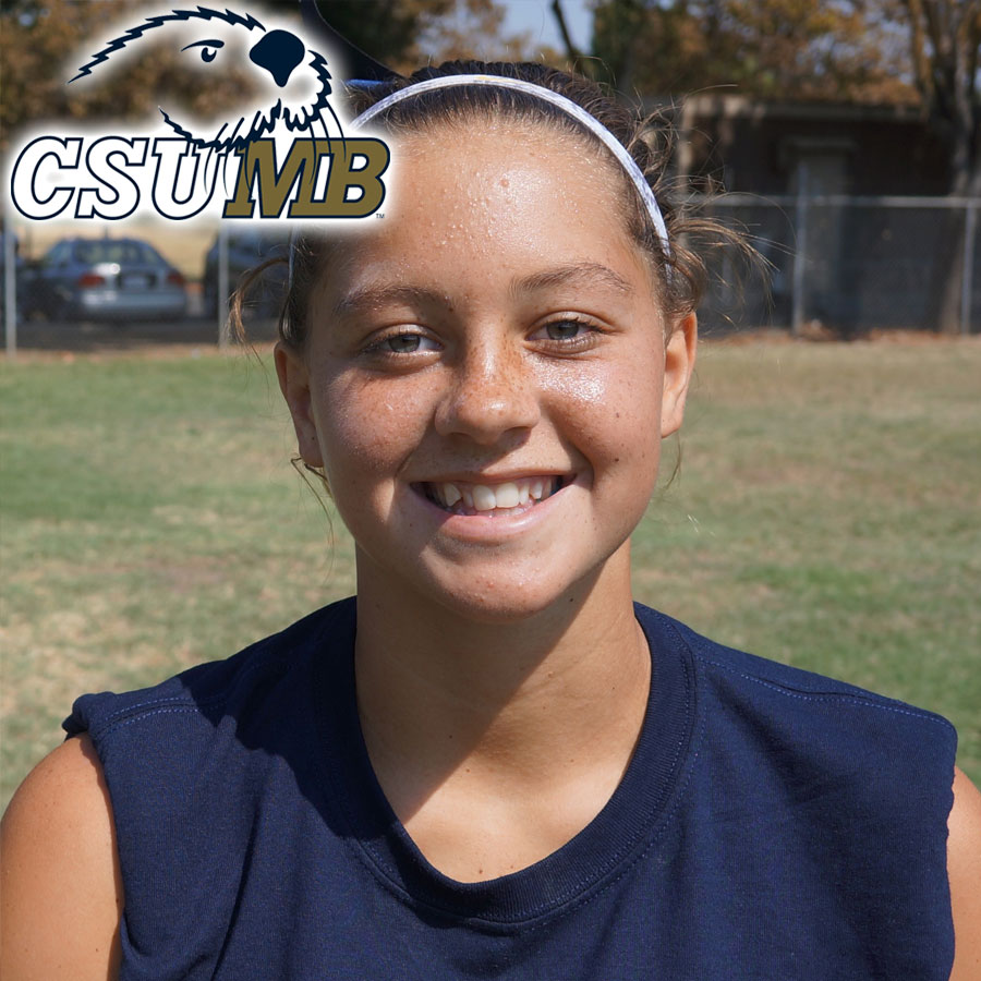 Kylie Huddleston (2018) Commits to Cal State Monterey Bay
