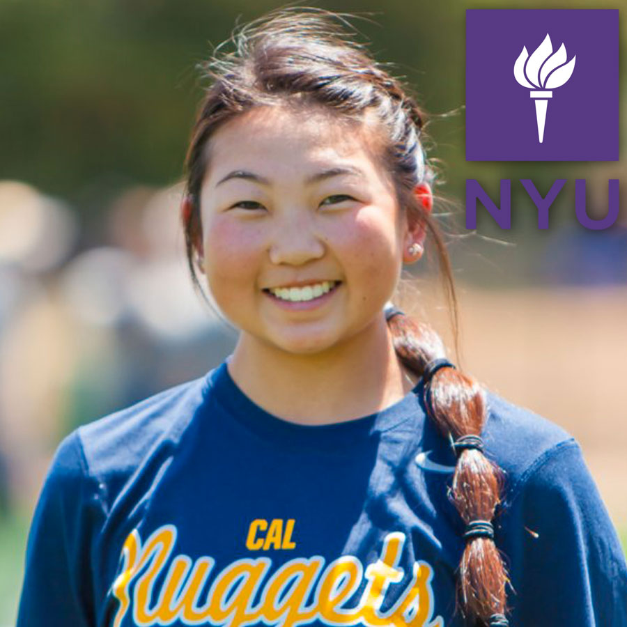 Lauren Kong (2018) Commits to New York University