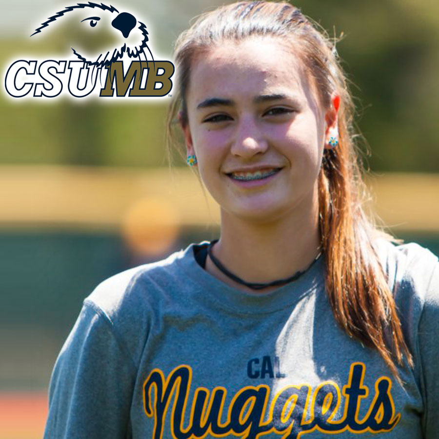 Ella Gibson (2019) Commits to Cal State Monterey Bay