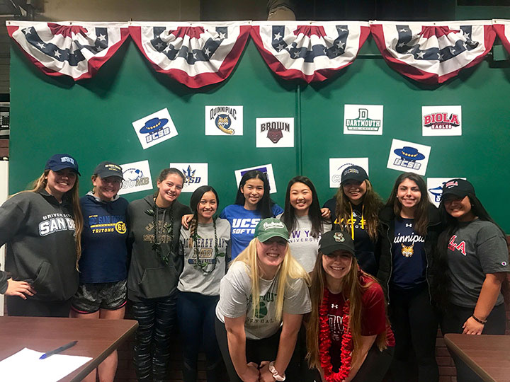Cal Nuggets Celebrate 2018 Commitments!