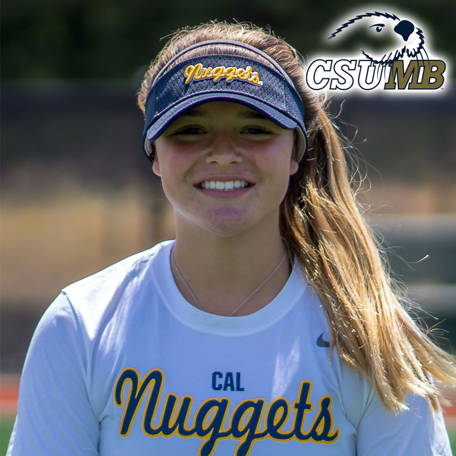 Maddy Ribeiro (2019) Commits to Cal State Monterey Bay